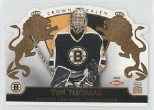 2002-03 Pacific Crown Royale #104 Tim Thomas Boston Bruins Rookie Hockey Card