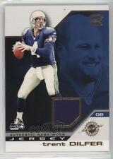 2002 Pacific Game-Worn Jerseys #44 Trent Dilfer Seattle Seahawks Football Card