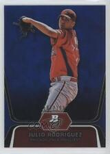 2012 Bowman Platinum Prospects Blue Refractor #BPP77 Julio Rodriguez Rookie Card