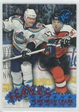 1995 Topps Stadium Club Fearless #F8 Wendel Clark New York Islanders Hockey Card