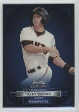 2012 Bowman Sterling Prospects #BSP8 Gary Brown San Francisco Giants Rookie Card