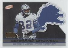 2001 Pacific Prism Atomic Premiere Date Non-Numbered #49 Germane Crowell Card
