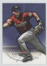 2005 Fleer Platinum #34 Craig Biggio Houston Astros Baseball Card