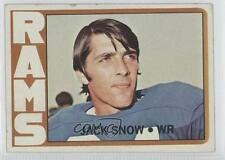 1972 Topps #152 Jack Snow Los Angeles Rams St. Louis Football Card