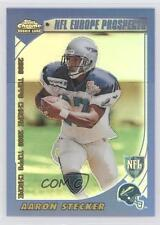 2000 Topps Chrome Refractor #227 Aaron Stecker Scottish Claymores (NFL Europe)
