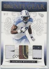 2010 Playoff National Treasures NFL Gear Trios Prime #35 Damian Williams Card