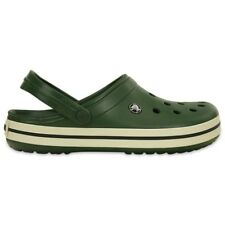 Crocs Crocband Clogs - Forest / Stucco - Croslite