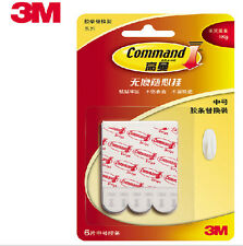 3M Command Poster Strips Damage Free Picture/Poster Hanging strips