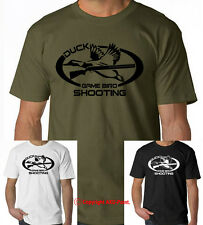 DUCK GAME BIRD SHOOTING hunting t-shirt, woodcock, pheasant, duck commander tee