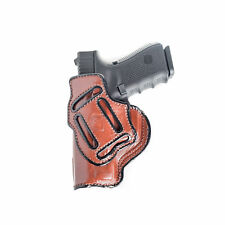 4 IN 1 IWB LEATHER HOLSTER FOR TAURUS MILLENNIUM PRO  - RIGHT/LEFT - BLACK/BROWN