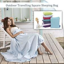 Outdoor Travelling Backpacking Sleeping Bag Liner Lightweight Cotton Fabric E9X1