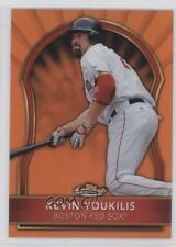 2011 Topps Finest Orange Refractor #53 Kevin Youkilis Boston Red Sox Card