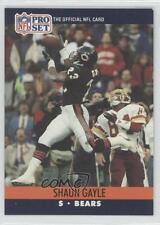 1990 Pro Set #450 Shaun Gayle Chicago Bears RC Rookie Football Card