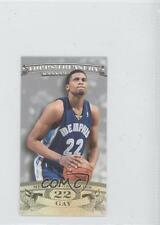 2008 Topps Treasury Mini Exclusives Silver ME-RG Rudy Gay Memphis Grizzlies Card