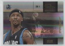 2009 Panini Studio Proofs Gold #19 Jason Terry Dallas Mavericks Basketball Card