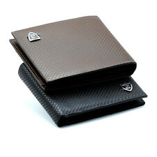 New Men Leather Credit Card Holder Wallet  ID Cash Coin Purse card Holder