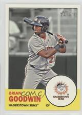 2012 Topps Heritage Minor League Edition #183 Brian Goodwin Hagerstown Suns Card