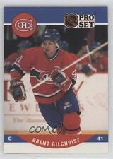1990-91 Pro Set #471 Brent Gilchrist Montreal Canadiens RC Rookie Hockey Card