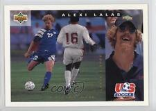 1993 Upper Deck World Cup 94 Preview English/Spanish 157 Alexi Lalas Soccer Card