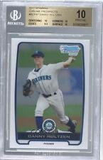 2012 Bowman Chrome Prospects #BCP87 Danny Hultzen BGS 10 Seattle Mariners Card
