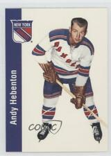 1994-95 Parkhurst 1956-57 Missing Link #97 Andy Hebenton New York Rangers Card