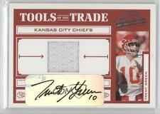 2004 Playoff Absolute Memorabilia Tools of the Trade Materials TT-92 Trent Green