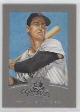 2002 Donruss Diamond Kings Silver Foil #128 Ted Williams Boston Red Sox Card