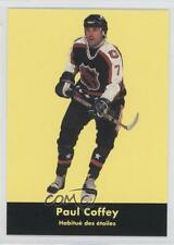 1991 Parkhurst French 225 Paul Coffey Pittsburgh Penguins NHL All-Star Team Card