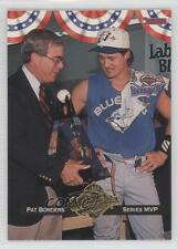 1993 Donruss Toronto Blue Jays Commemorative Set #WS8 Series MVP (Pat Borders)