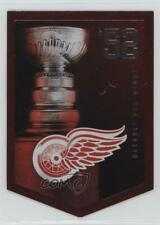 2012-13 Panini Molson Canadian Stanley Cup Collection #52 Detroit Red Wings Team