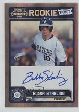 2011 Playoff Contenders Rookie Tickets Signatures #RT5 Bubba Starling Auto Card