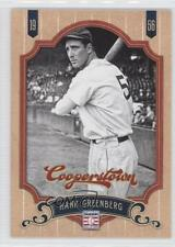 2012 Panini Cooperstown #71 Hank Greenberg Detroit Tigers Baseball Card