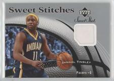 2006-07 Upper Deck Sweet Shot Stitches Memorabilia #SS-JT Jamaal Tinsley Card