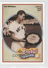 1992 Upper Deck Baseball Heroes #31 Ted Williams Boston Red Sox Card
