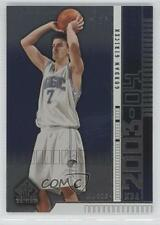2003-04 SP Signature Edition #66 Gordan Giricek Orlando Magic Basketball Card
