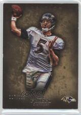 2012 Topps Inception Gold #2 Joe Flacco Baltimore Ravens Football Card