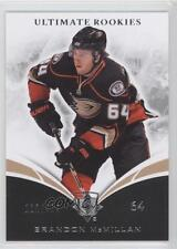 2010 Ultimate Collection #61 Brandon McMillan Anaheim Ducks (Mighty of Anaheim)