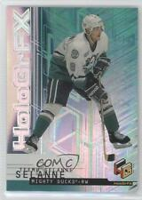1999 Upper Deck HoloGrFX #1 Teemu Selanne Anaheim Ducks (Mighty of Anaheim) Card