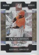 2009 Donruss Elite Extra Edition Status Gold 81 Kentrail Davis Milwaukee Brewers