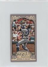 2012 Topps Gypsy Queen Mini Back #77 JP Arencibia Toronto Blue Jays J.P. Card