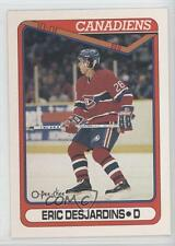 1990-91 O-Pee-Chee #425 Eric Desjardins Montreal Canadiens RC Rookie Hockey Card