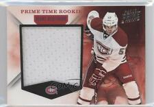 2011-12 Panini Prime Time Rookie Materials 40 Blake Geoffrion Montreal Canadiens