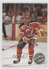 1991-92 Pro Set Platinum #195 Claude Vilgrain New Jersey Devils Hockey Card