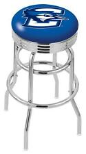 Creighton Bluejays Retro Swivel Bar Stool Barstools