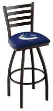 Vancouver Canucks Swivel Bar Stool with Ladder Back