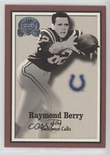 2000 Fleer Greats of the Game 22 Raymond Berry Baltimore Colts Indianapolis Card