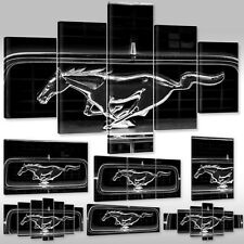 Canvas Picture Wall Tattoo Art Print Stretcher Frame Car Sports Ford Mustang