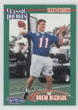 1998 Kenner Starting Lineup Classic Doubles #N/A Drew Bledsoe Football Card