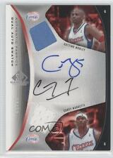 2006-07 SP Game Used Edition #AFDA-MM Cuttino Mobley Corey Maggette Auto Card