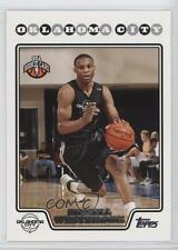 2008 Topps 199 Russell Westbrook Oklahoma City Thunder RC Rookie Basketball Card